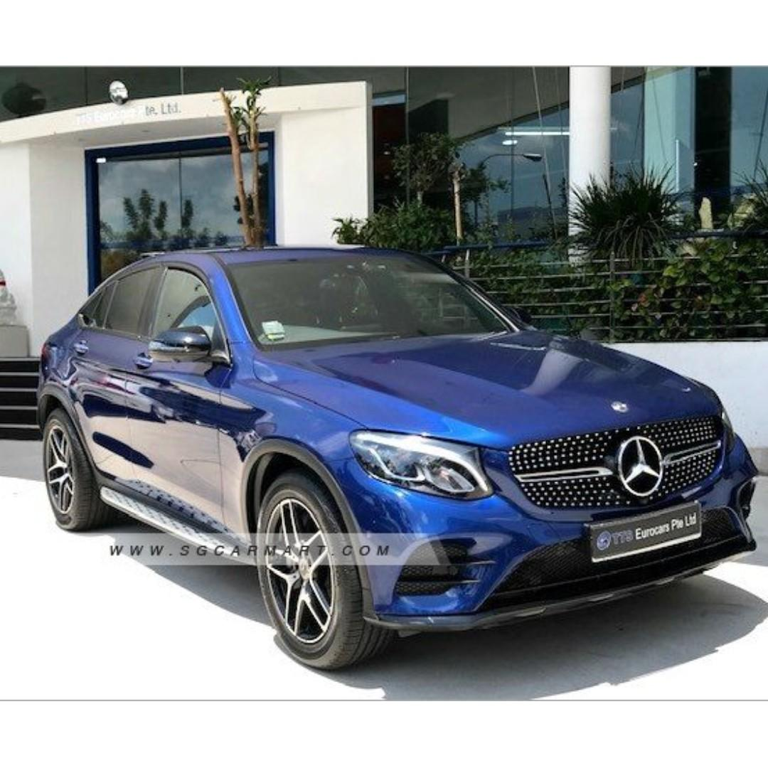 Mercedes-Benz GLC250 Coupe Auto
