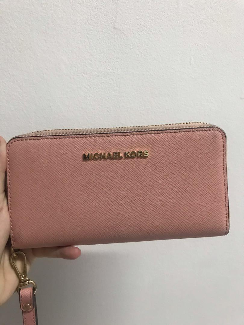 Michael Kors Wallet Pink MK Dompet