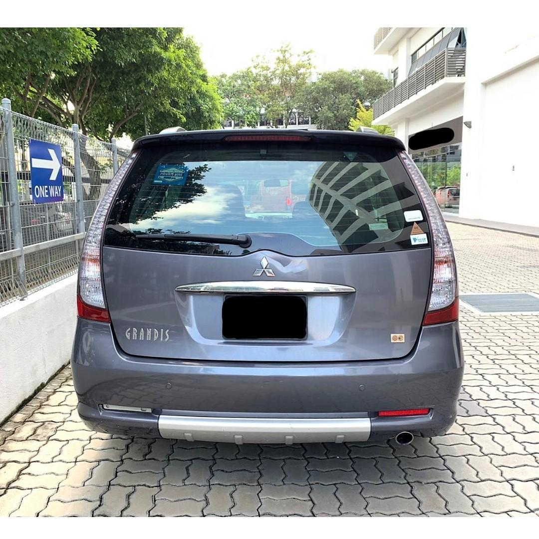 Mit Grandis 2.4A For PHV Go Jek Grab/Personal use Cheap Car Rental