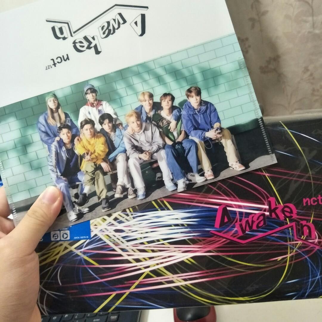 NCT127 AWAKEN CD+DVD FIRST PRESS LIMITED EDITION UNSEALED ALBUM
