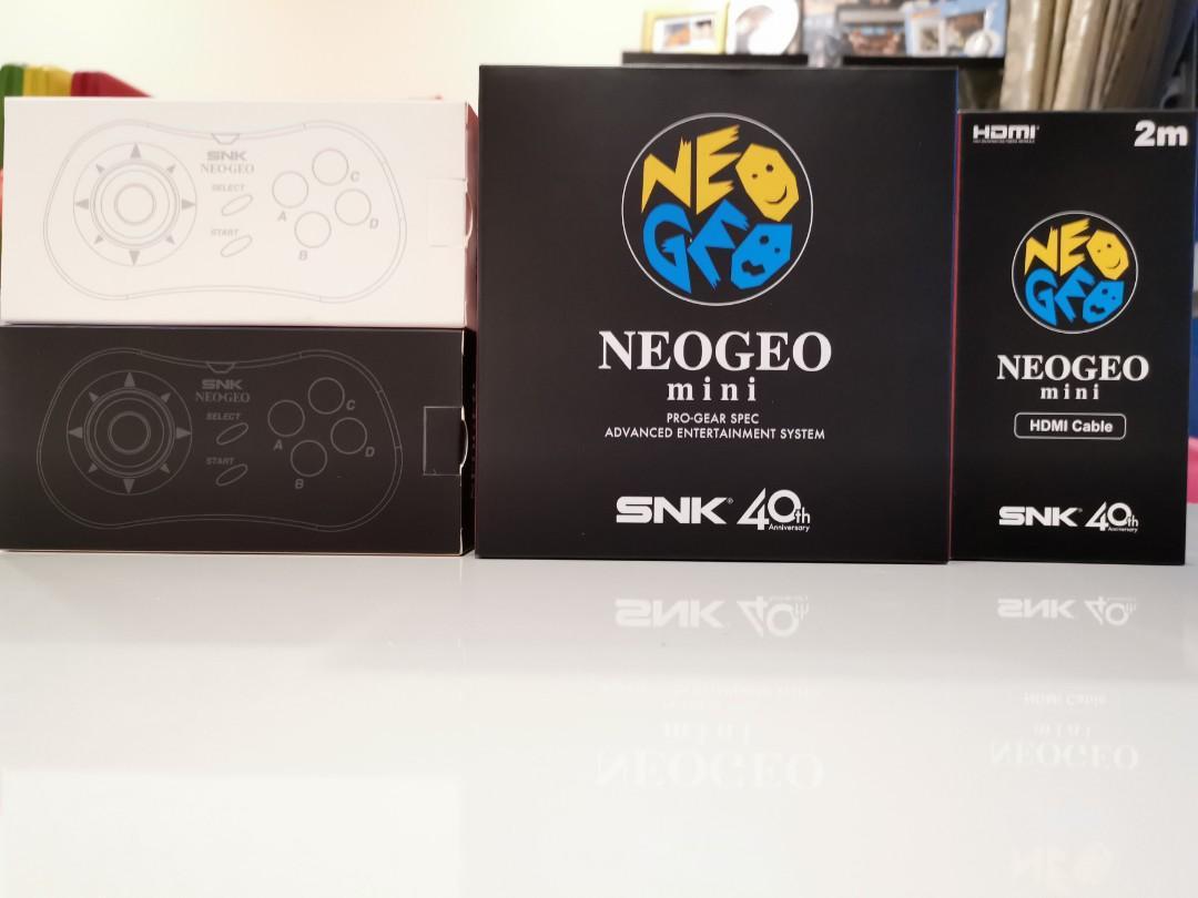 NeoGeo mini bundle set