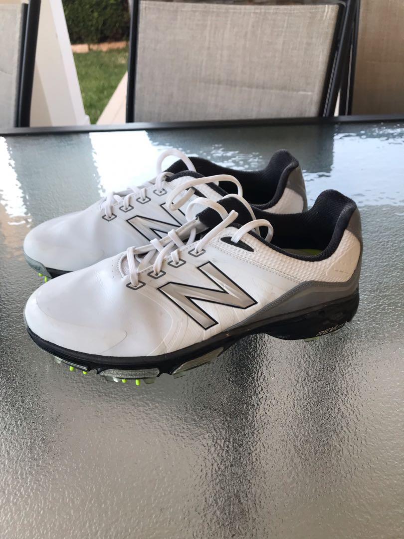 New Balance NBG3001 Golf Shoes - White/Green [Size: 12 US]