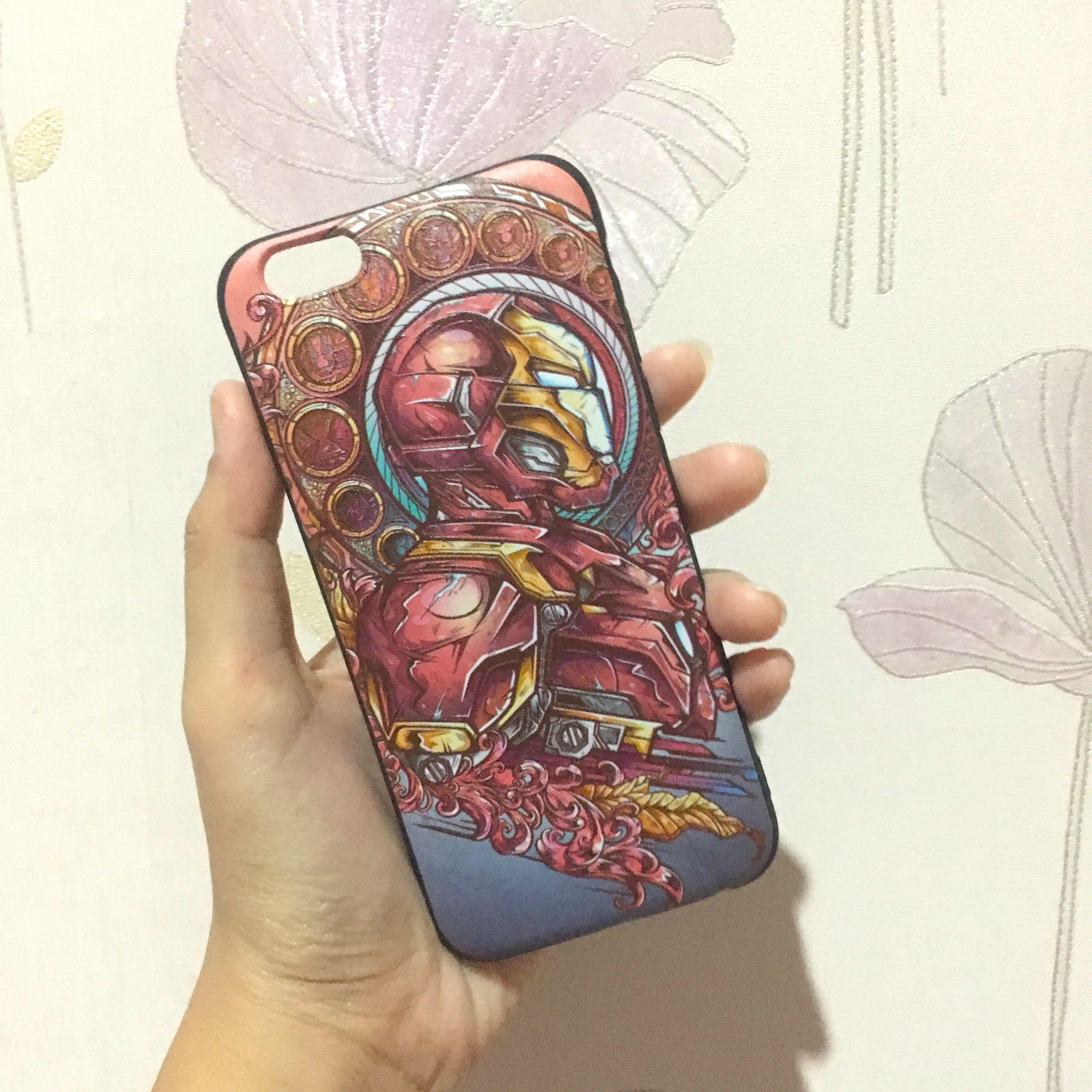 New iPhone 6 6s Case iron man avengers