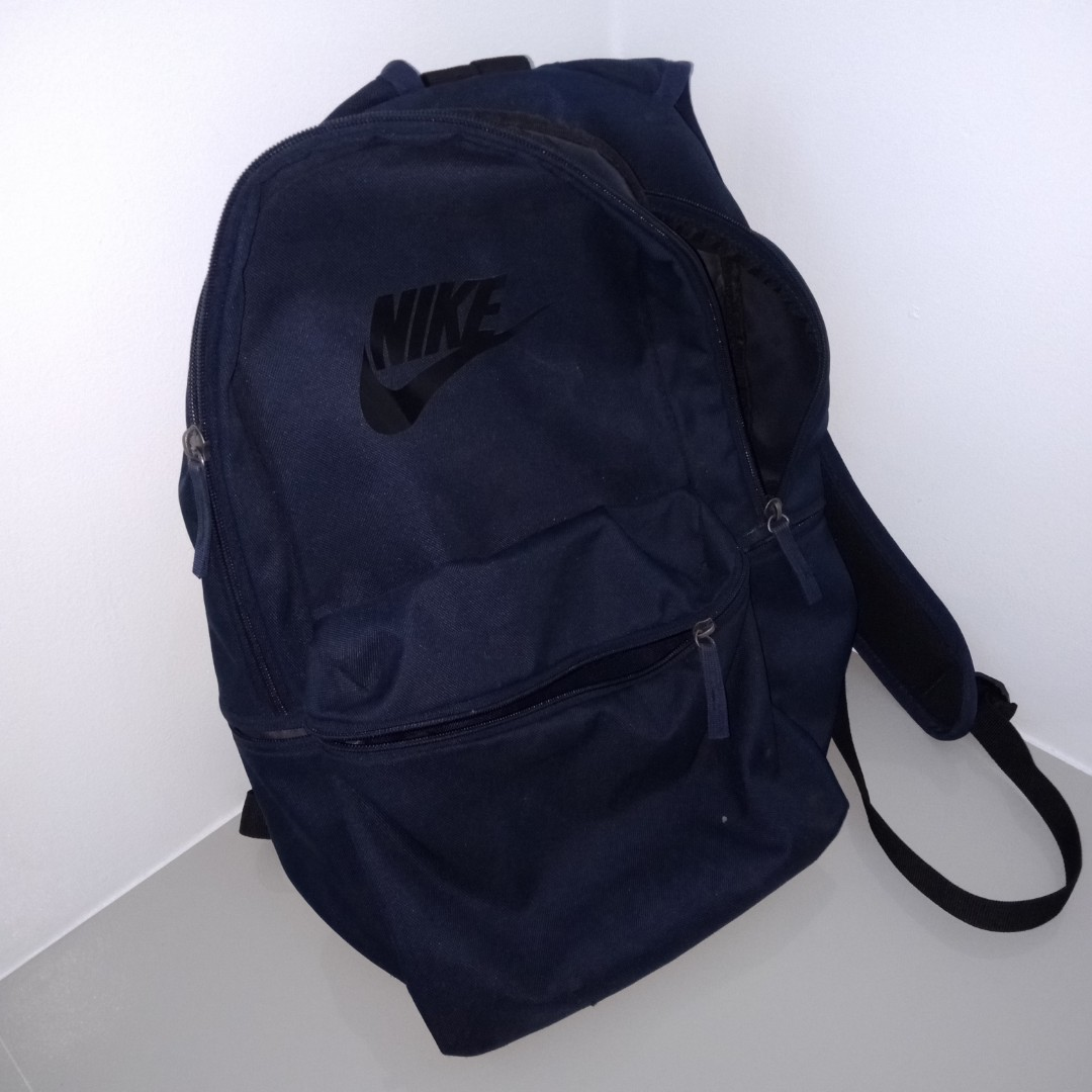 3de94c41dca Nike Heritage Backpack Navy Blue auth, Men's Fashion, Bags & Wallets,  Backpacks on Carousell