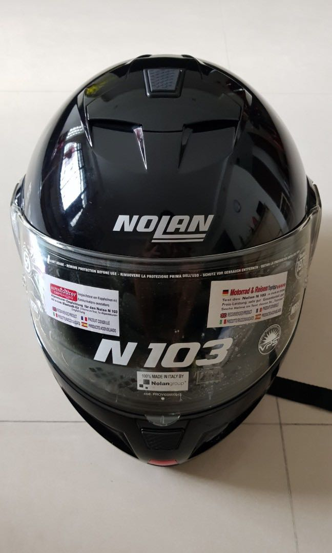6f0e1255 Nolan N103 Flip up Helmet (XL), Motorbikes, Motorbike Apparel on ...