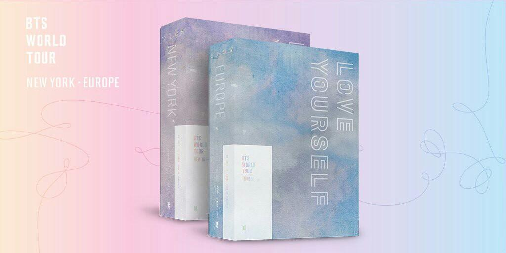 [NON PROFIT] BTS LOVE YOURSELF IN NEW YORK & EUROPE DVD