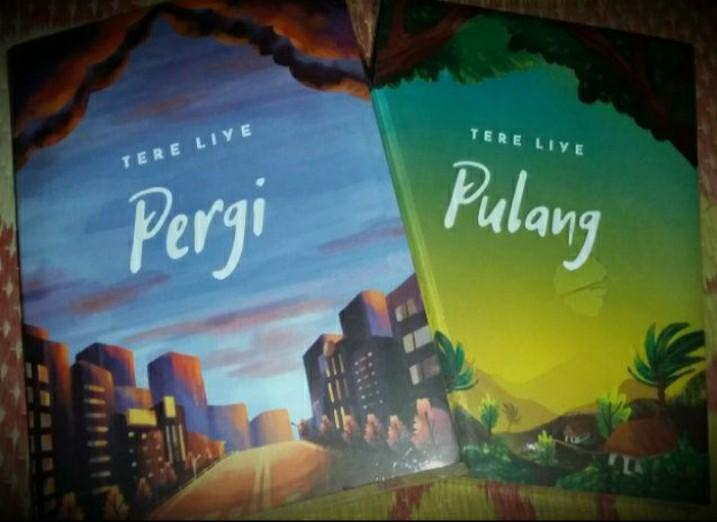 Novel Tere Liye Pergi #BAPAU