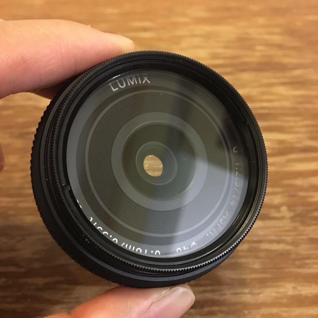 Panasonic LUMIX 14mm f2.5 m43定焦鏡