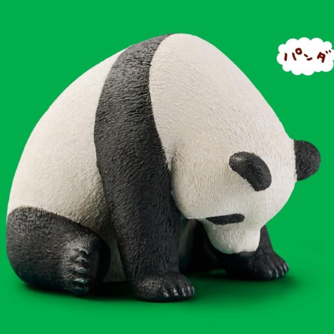 Panda's ana Zoo Zzz Sleeping Animal Oyasumi