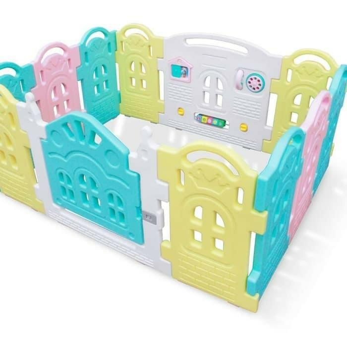 Parklon Fence Pagar Anak Plastik