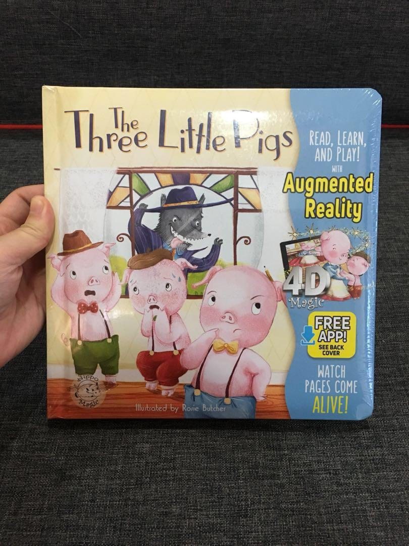 (PO) Three Little Pigs - AR Storybook