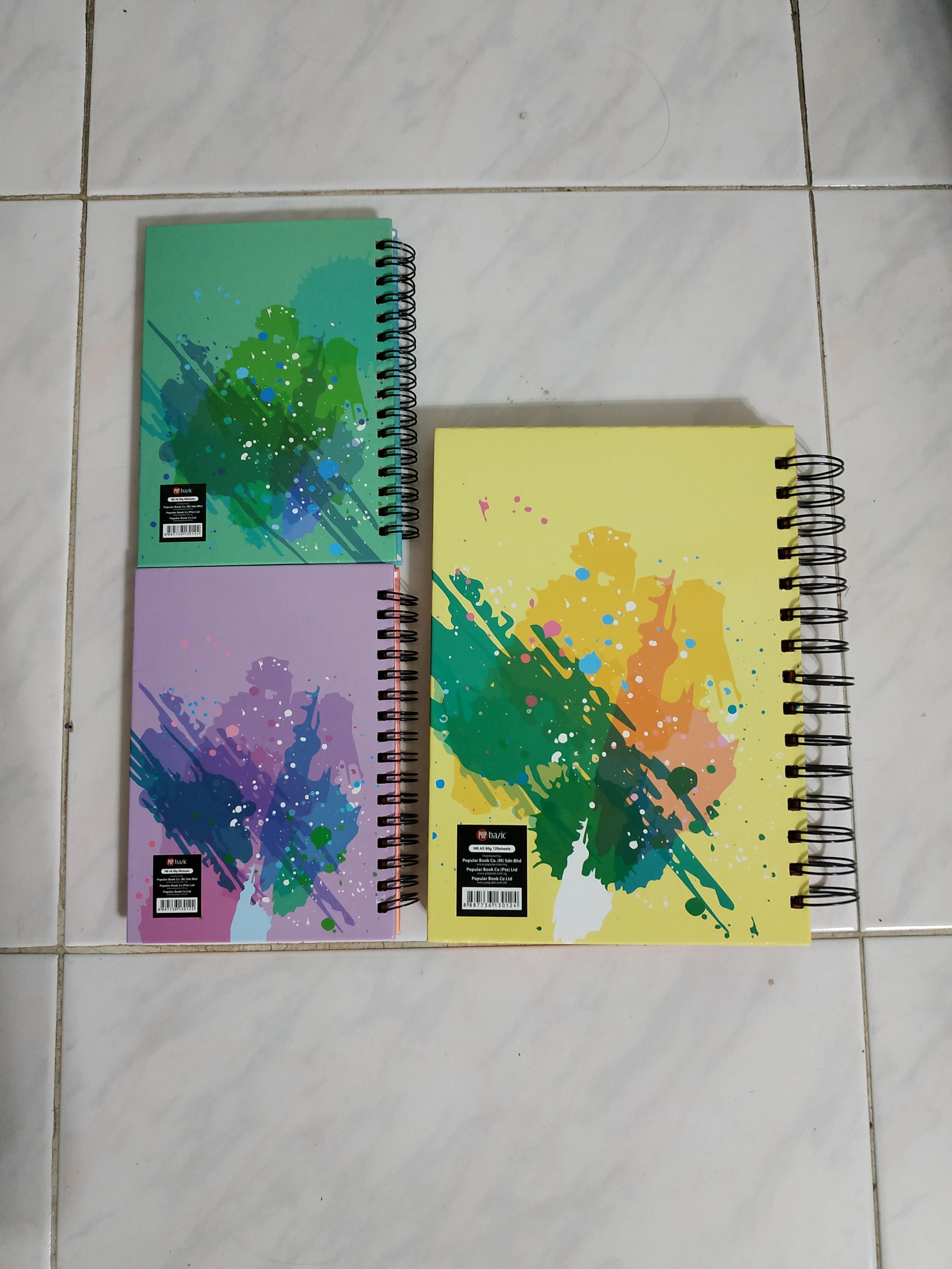 Pop basic notebook