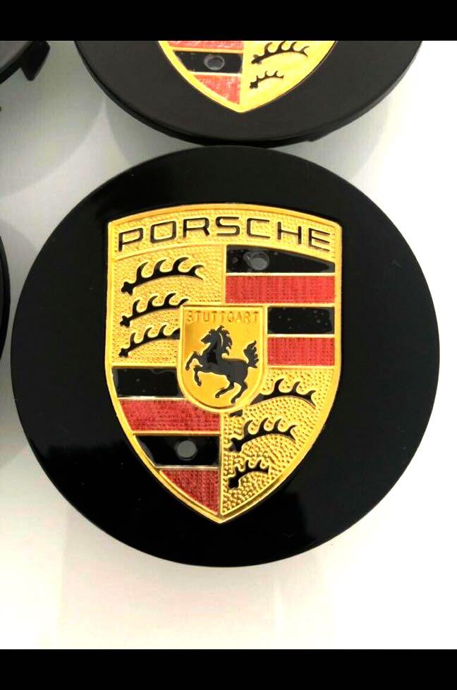 Porsche Wheel Caps