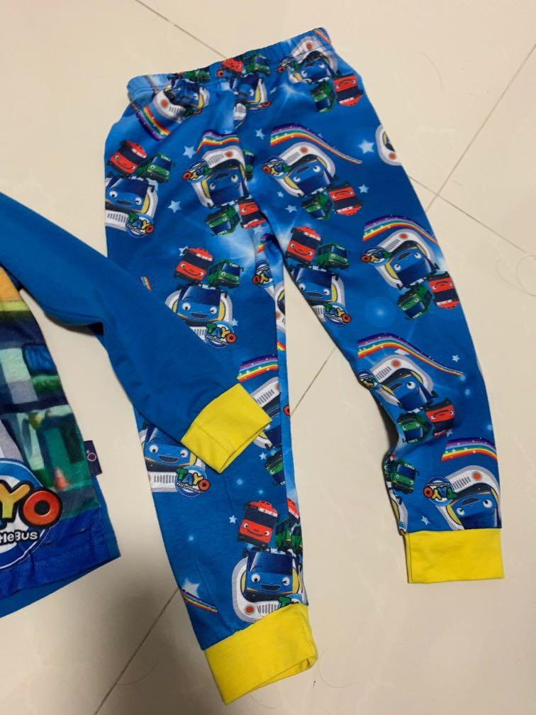 Preloved Tayo bus pyjamas