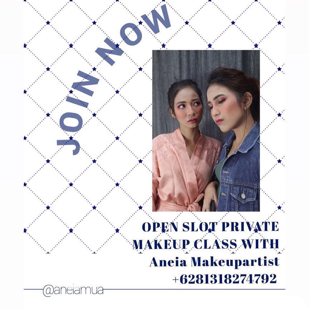 Private makeupclass Bekasi