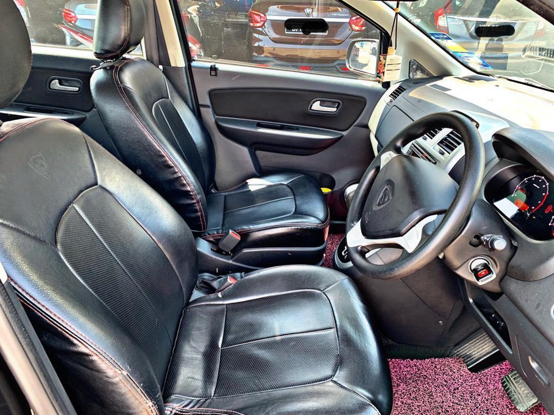 PROTON EXORA BOLD TURBO 1.6 AUTO LEATHER SEAT BLACK