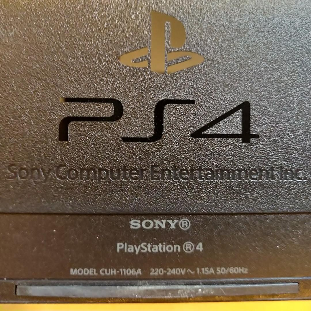 PS4 console 500GB with 3 controllers 二手ps4主機厚機500gb 連三手制