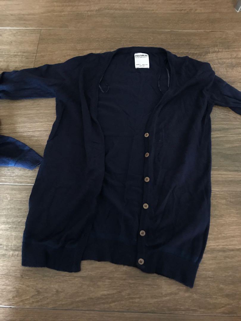 PULL&BEAR navy cardigan