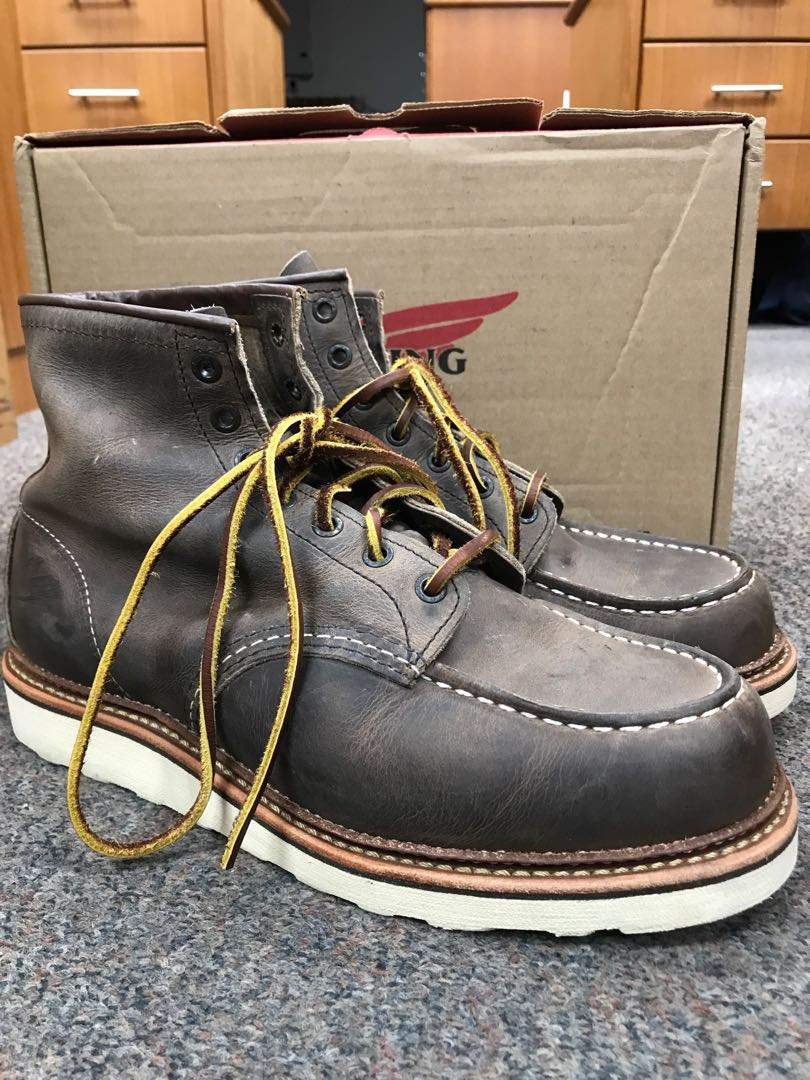 da26c69a771 Red Wing Heritage Boots MOC 8883 US9D Concrete Rough n Tough {worn once}