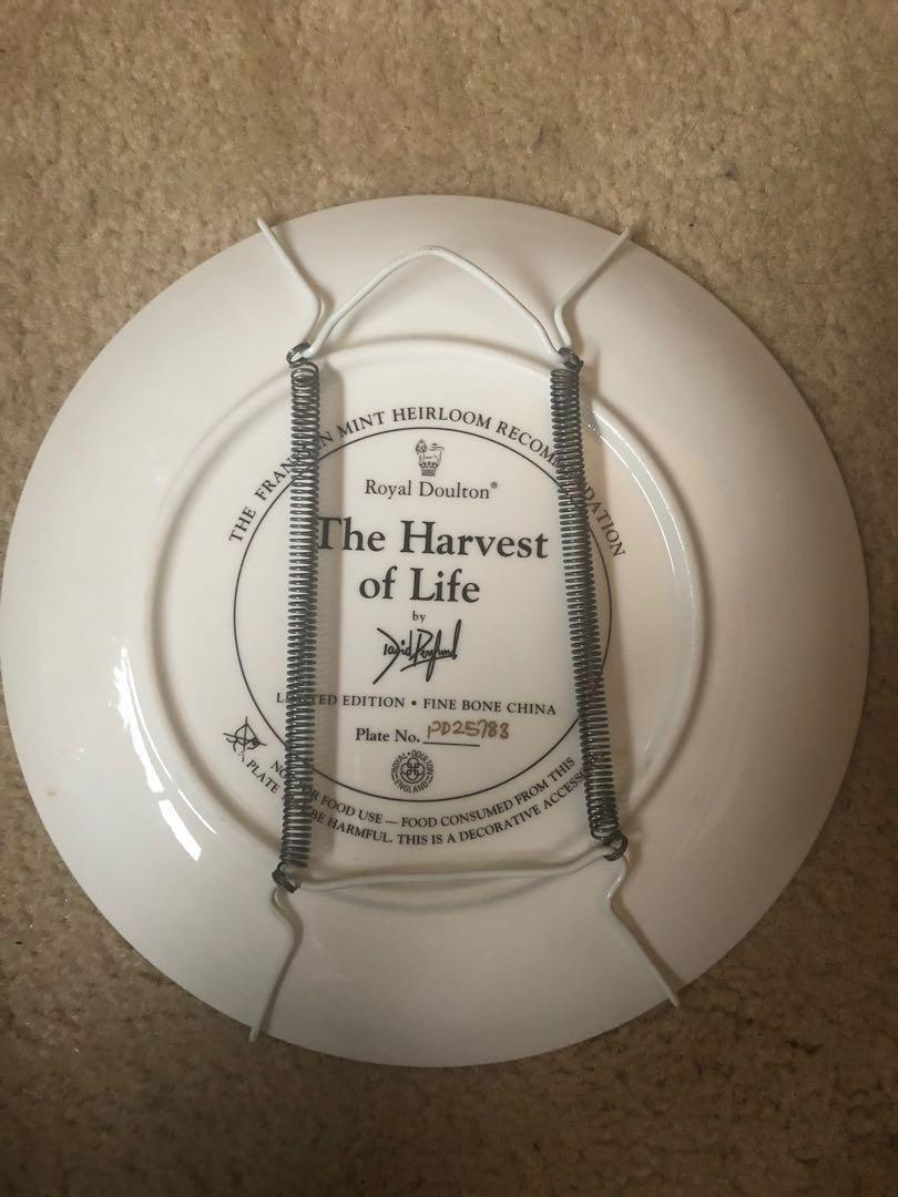 Royal Doulton 'The Harvest of Life' by David Penfound