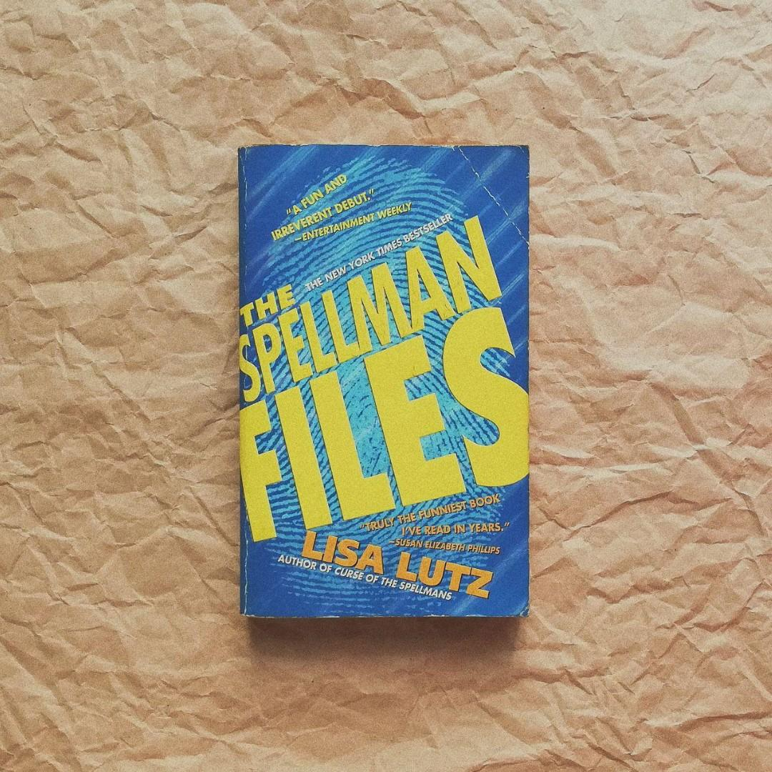 Secondhand Books - The Curse of the Spellmans + The Spellman Files by Lisa Lutz