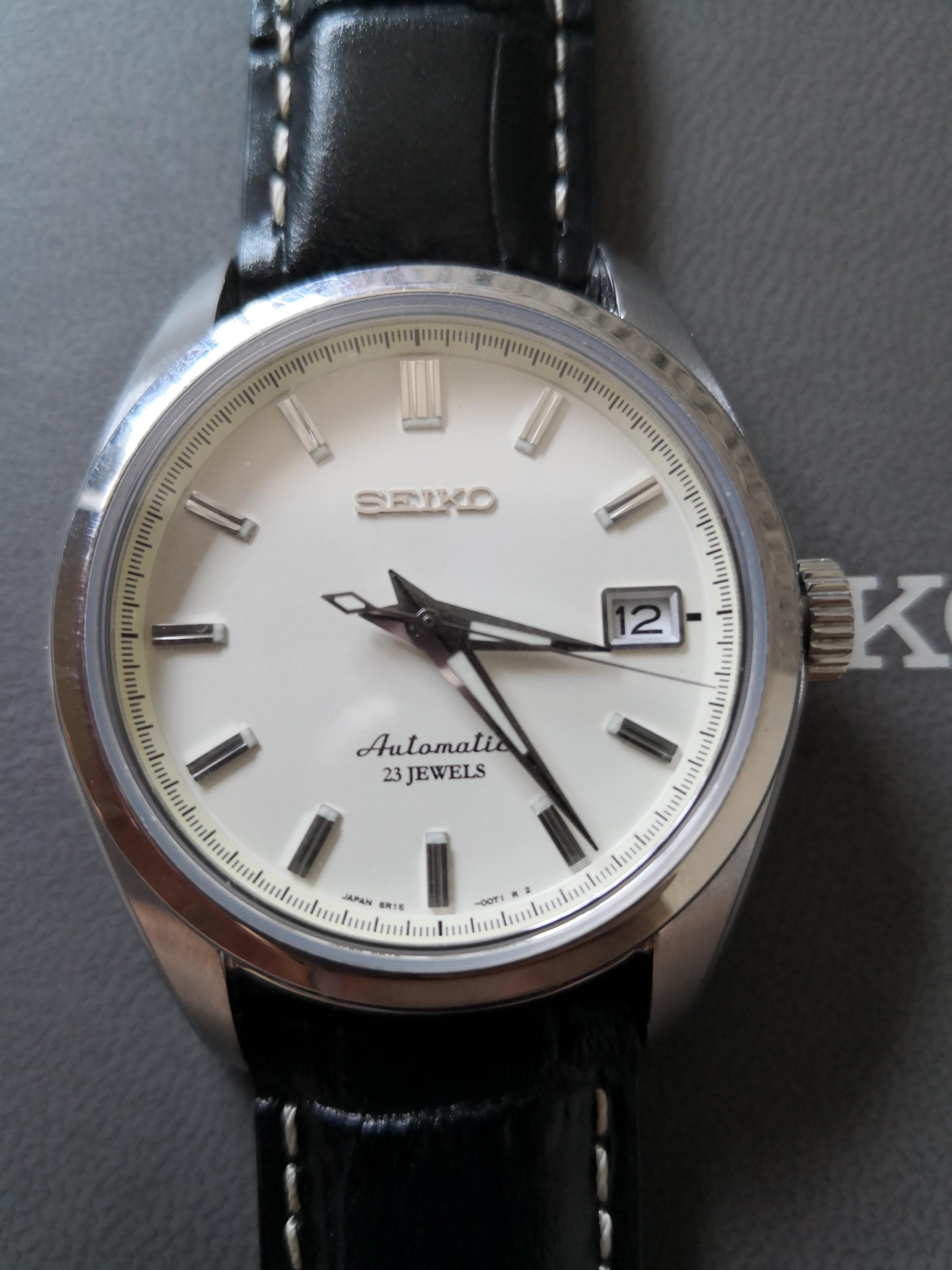 Seiko Automatic 38mm Sports Dress Watch