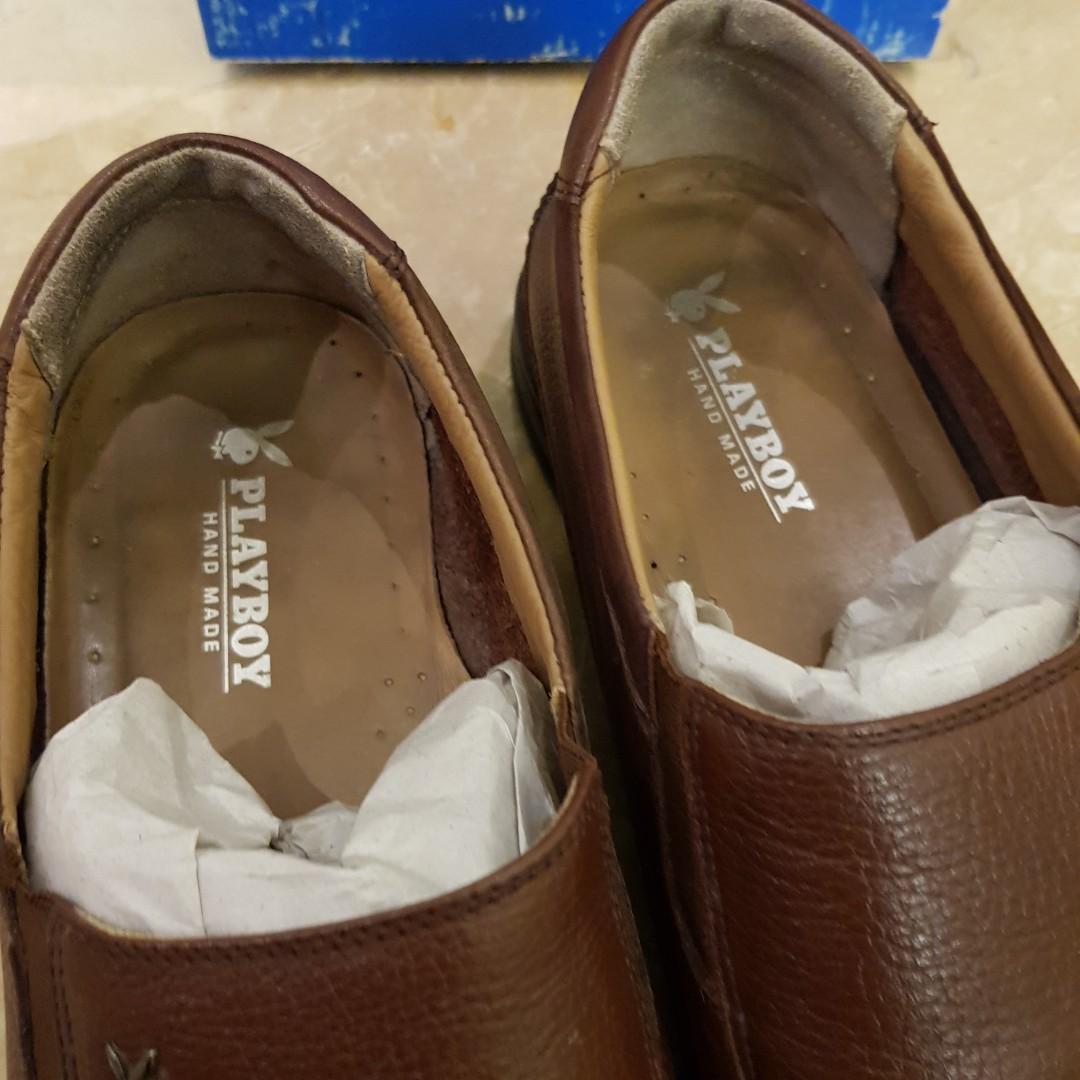 Sepatu pantofel pria brand Playboy size 43-44