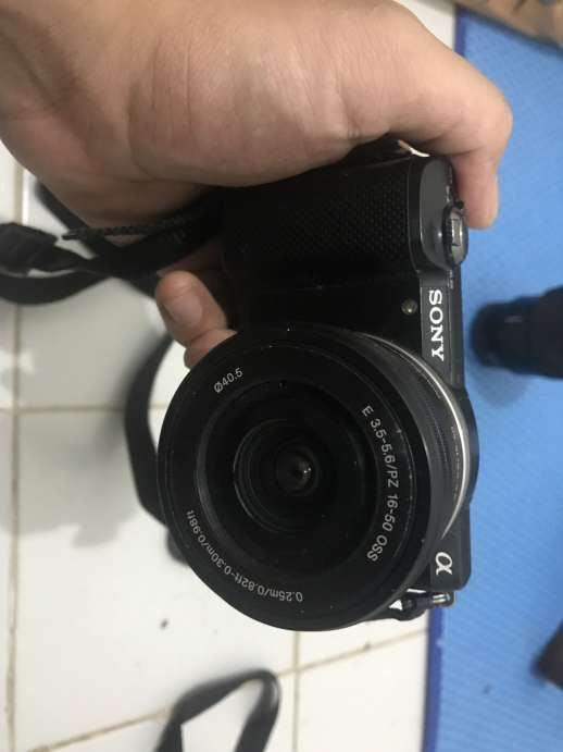 Sony A5000 + Lensa Kit 16-50