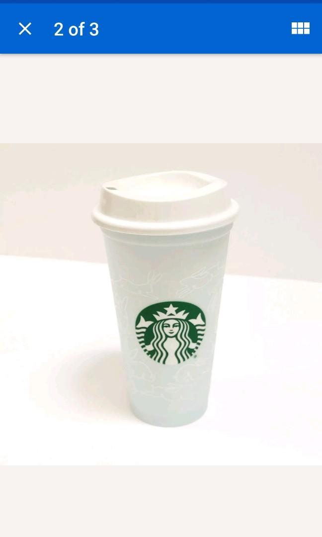Starbucks Spring Easter 2019 Reusable Cup Collection  Grande 16oz