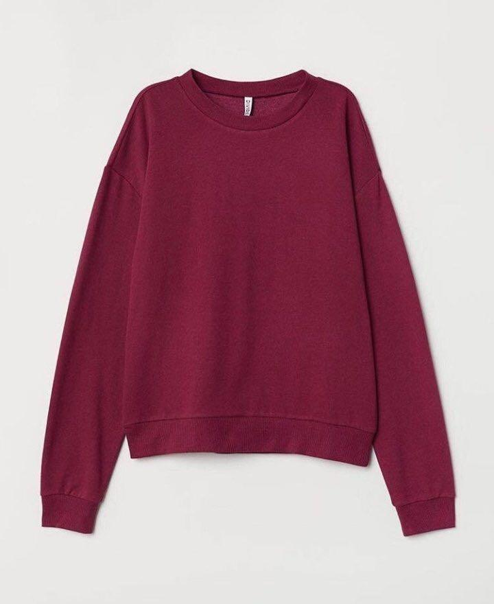 Sweatshirt Basic H&M original 100%
