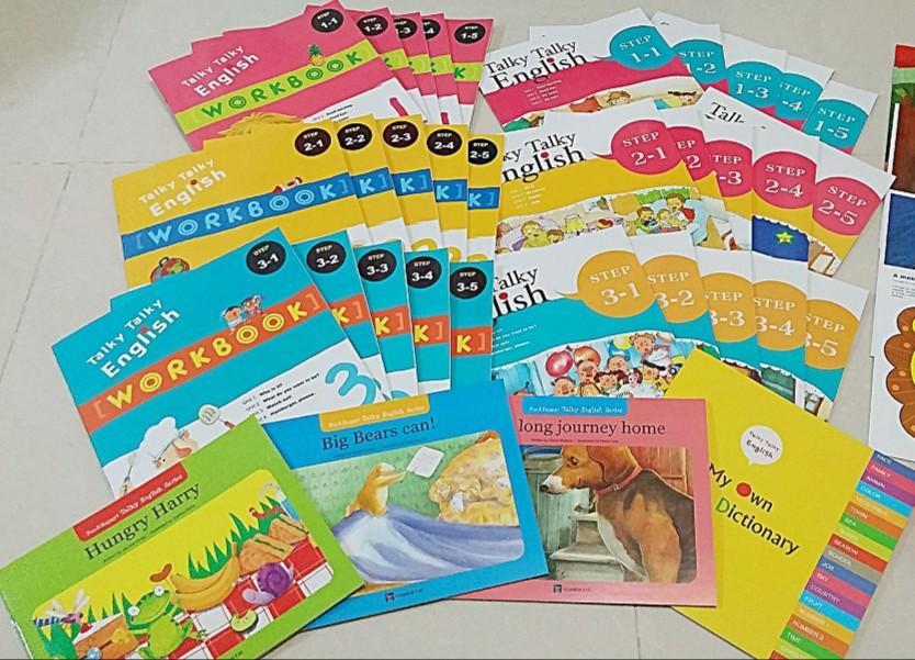 Talky & Kids English英語教材 (欠點讀筆)