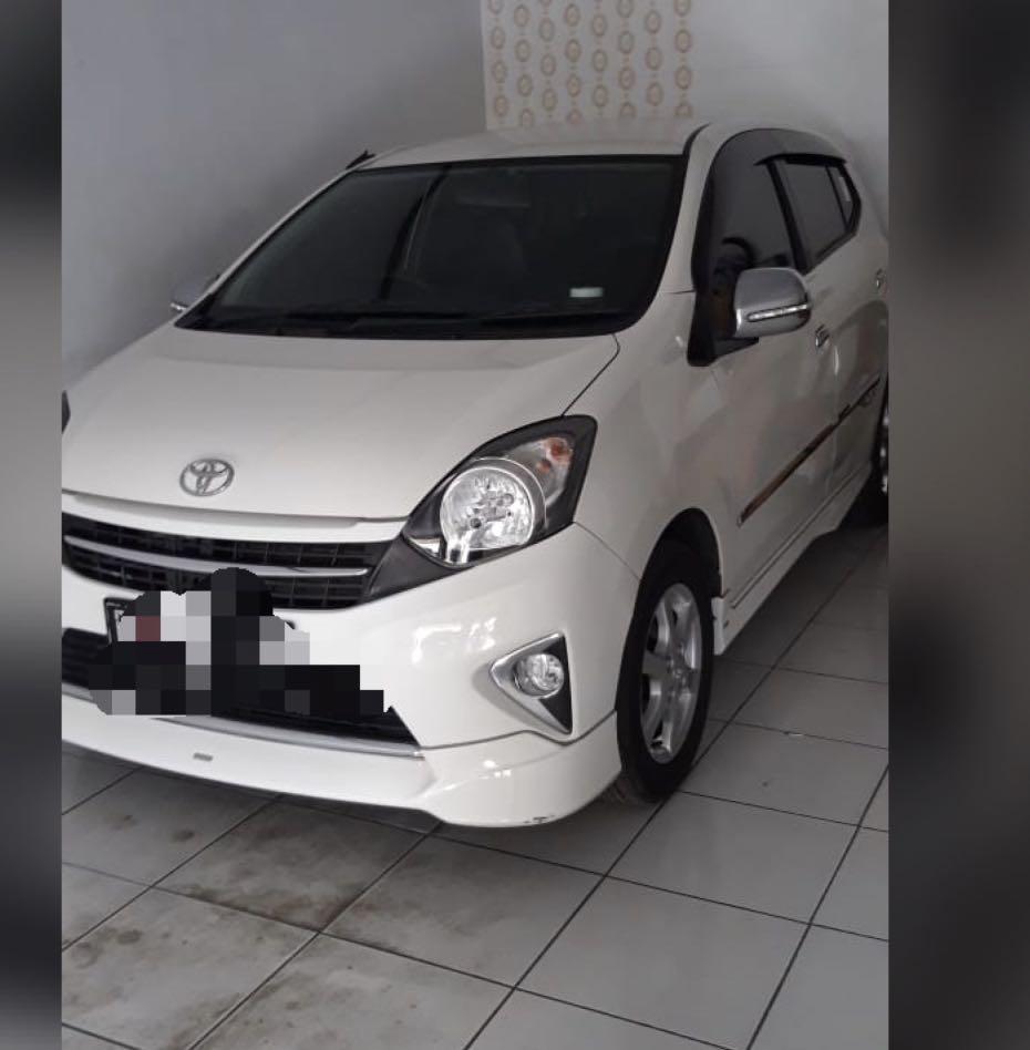 Toyota Agya G mt TRD 2017