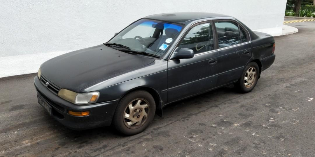 Toyota Corolla 1.6 LX Manual