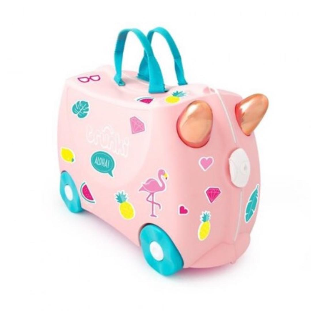 Trunki Luggage (flamingo)