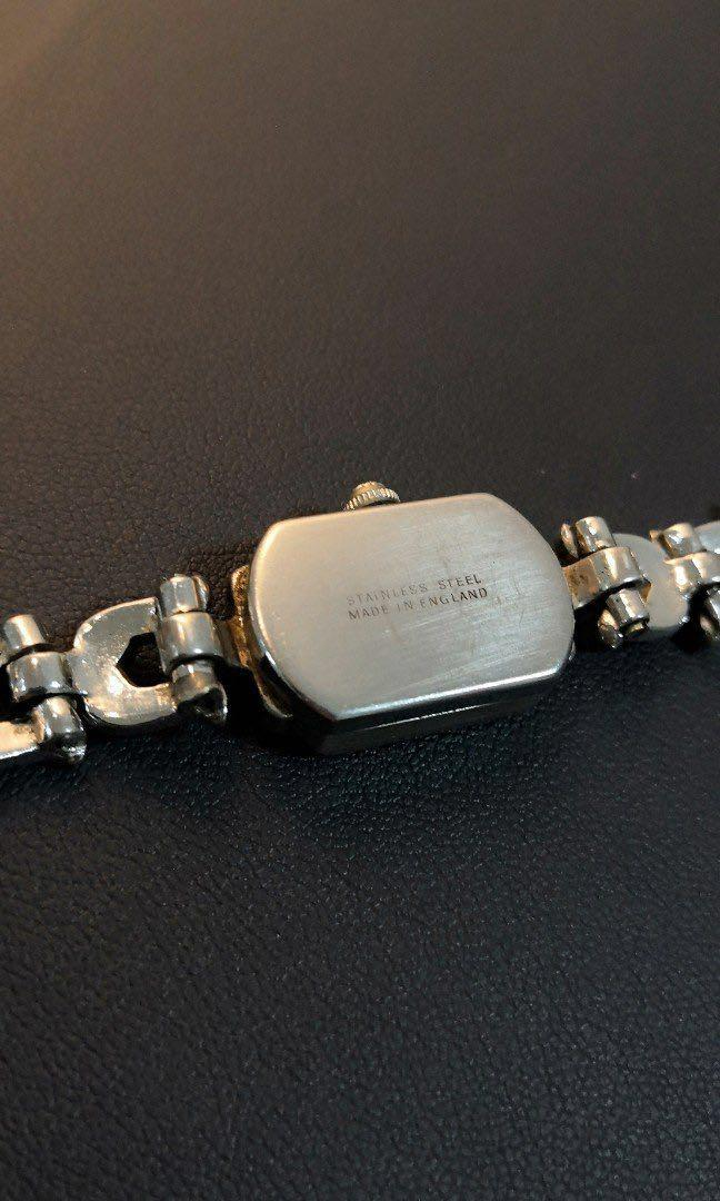 Vintage TITUS Ladies Swiss Hand Winding Marcasite Watch