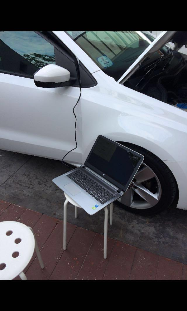 VW Vehicle Health-check and Faults Troubleshoot Services
