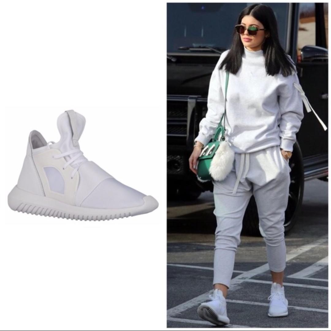 Womens adidas tubular defiant white size 7 new in box
