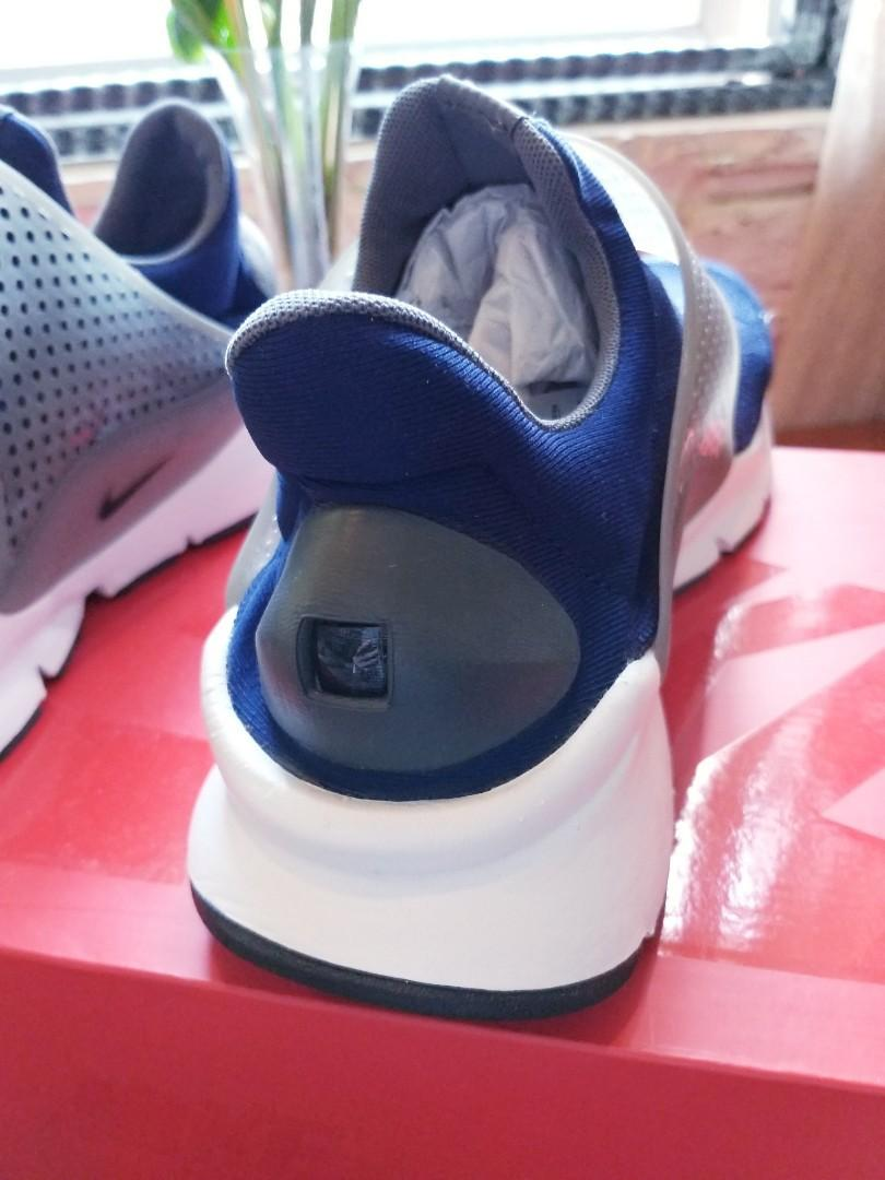 Nike sock dart navy kjcrd knit jacquard navy grey men running shoes 819686-401 Brand New Authentic NIKE! Only $85!