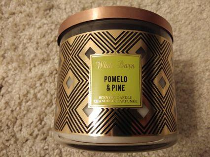 Pomelo & Pine (3 wicks scented candle)