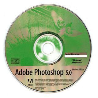 Adobe Photoshop 5.0 Limited Edition 正版光碟