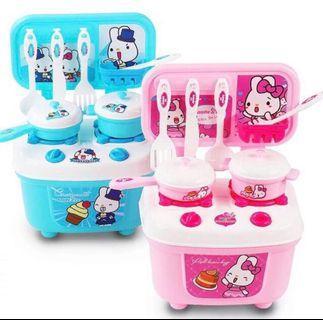 kids mini kitchen toy set