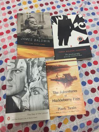 Literature books for sale (PART 2)
