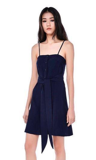 The editors market karine button down dress