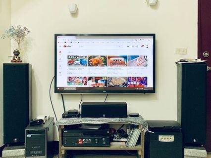 LG 47吋電視