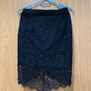 🚚 Black Lace MDS Skirt