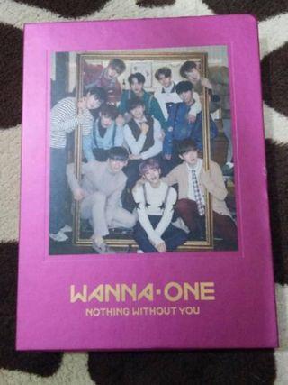 Photobook+cd Wannaone