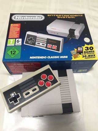 Rare Discontinued Original Nintendo Classic Mini
