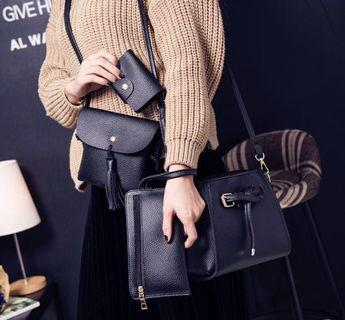 🚚 [PO-KW] Sling Bag Set 4 in 1