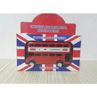 🚚 ⛥全新現貨⛥紅色巴士紀念削鉛筆機