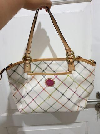Tote Bag Coach Leather